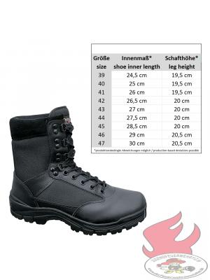 Jugendfeuerwehr Schuh Thinsulate